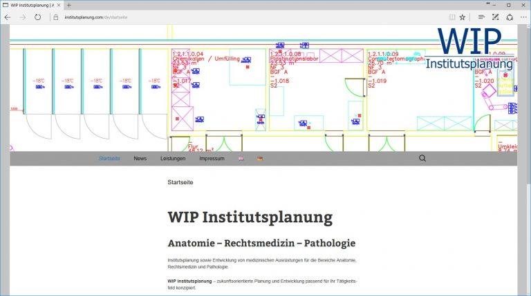 WIP Institutsplanung