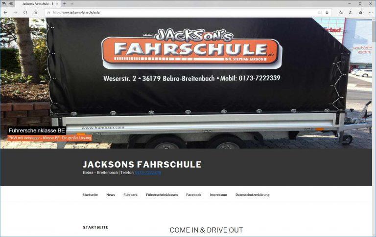 Jacksons Fahrschule Stephan Jargon